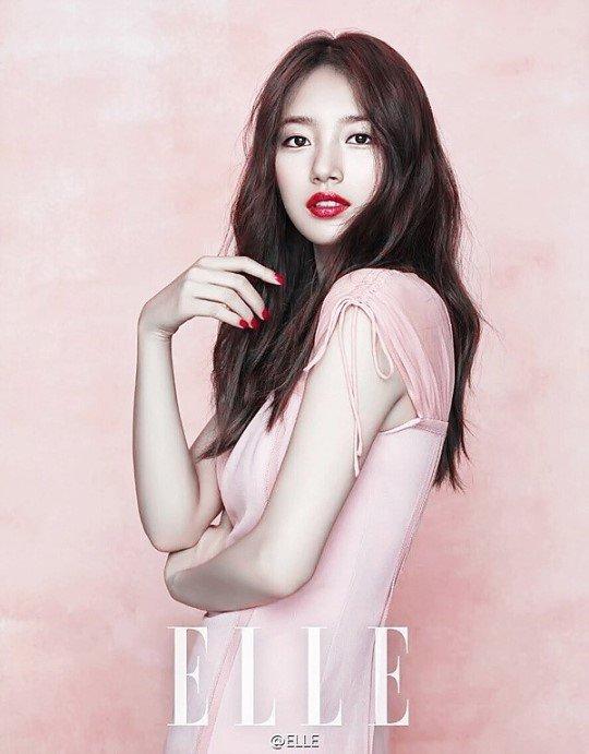 Suzy per Elle Korea