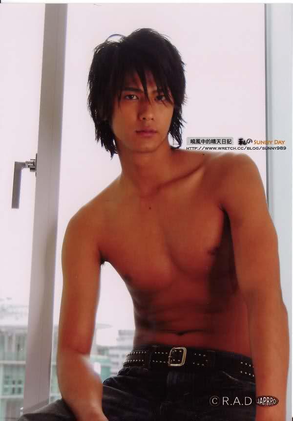 Hayami Mokomichi shirtless