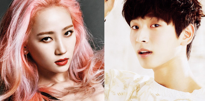 Yeeun delle Wonder Girls e Jinwoon dei 2AM